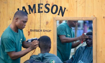 Jameson offering free haircut at SociaLiga event